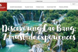 Thêm một kênh xúc tiến du lịch quốc tế trên Internet