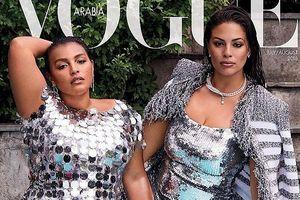 'Siêu mẫu béo' Ashley Graham nóng bỏng trên bìa tạp chí Vogue