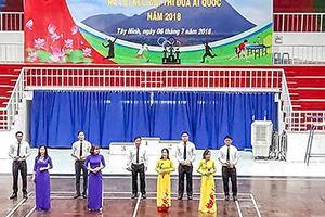Cụm thi đua số IV TAND tổ chức Hội thao kỷ niệm 70 năm Ngày Chủ tịch Hồ Chí Minh ra lời kêu gọi thi đua ái quốc