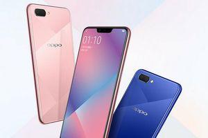 Oppo A5 chính thức: màn hình tai thỏ, camera kép, giá từ 225 USD