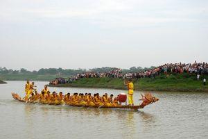 Vĩnh Phúc: Sôi nổi Lễ hội Bơi chải truyền thống xã Tứ Yên