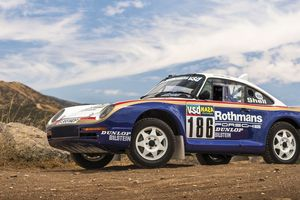 Đây là mẫu Porsche duy nhất đã vô địch giải đua Paris - Dakar