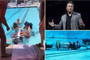 Giải cứu đội bóng Thái Lan: Elon Musk gửi tàu ngầm mini hỗ trợ
