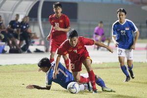 U19 Việt Nam bị loại sau trận hòa U19 Singapore