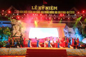 Long trọng lễ kỷ niệm 50 năm chiến thắng Khe Sanh