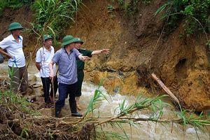 Chủ tịch tỉnh Lai Châu yêu cầu xử lý nhanh điểm sạt khu vực biên giới