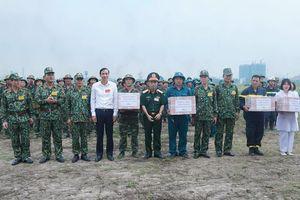 Huyện Gia Lâm hoàn thành diễn tập khu vực phòng thủ năm 2018