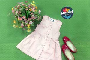 'Set' áo váy, giày búp bê dễ thương cho bé diện hè