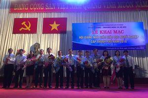 TPHCM: Khai mạc Hội giảng Nhà giáo Giáo dục nghề nghiệp cấp thành phố 2018