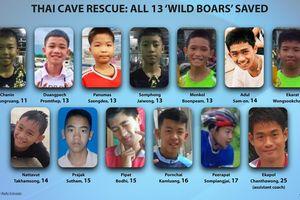 Hàng loạt lãnh đạo thế giới chúc mừng vì đã giải cứu được toàn bộ đội bóng nhí Thái Lan an toàn