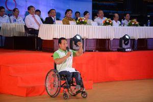Khai mạc Hội thi Thể thao Người khuyết tật toàn quốc lần thứ IV (2018): Hơn 1.300 VĐV tham gia tranh tài 7 môn thi