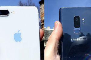 Vượt Galaxy S9+, iPhone 8 chiếm vị trí 'ăn khách' nhất