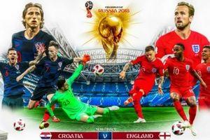 DỰ ĐOÁN và tỉ lệ cược: Anh - Croatia