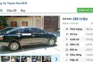 Chiếc ô tô Toyota cũ này đang rao bán nhiều nhất ở tầm giá 200 triệu tại Việt Nam