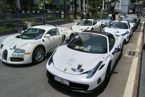 Cận cảnh dàn siêu xe trăm tỷ của ông Đặng Lê Nguyên Vũ tại Hà Nội