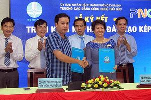 Trường Cao đẳng Công nghệ Thủ Đức triển khai mô hình đào tạo kép đầu tiên tại Việt Nam