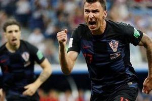 Mandzukic: 'Croatia mới là sư tử đích thực'