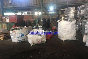 Tiêu hủy 16 container 'rác' điện tử nhập khẩu