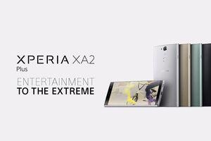 Xperia XA2 Plus ra mắt: màn hình 6 inch, Snapdragon 630, âm thanh Hi-Res