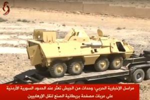Quân đội Syria thu chiến lợi phẩm một kho vũ khí khổng lồ, bao gồm xe thiết giáp NATO