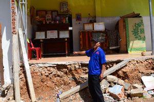 Bị chính quyền cho rằng lấn chiếm đất khi sửa nhà trên nền móng cũ