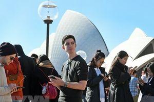 Lượng người di cư vào Australia thấp nhất trong một thập kỷ