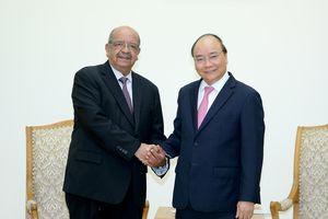 Thủ tướng tiếp Bộ trưởng Ngoại giao Algeria