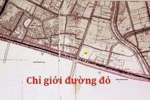 Duyệt chỉ giới đường đỏ tuyến đường Tây Thăng Long tại quận Bắc Từ Liêm