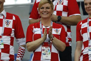 Tổng thống Croatia sẽ dự khán trận chung kết World Cup 2018