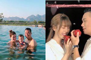 Việt Anh công khai xin lỗi vợ, Quế Vân vẫn 'mặt dày' đăng hình tình tứ