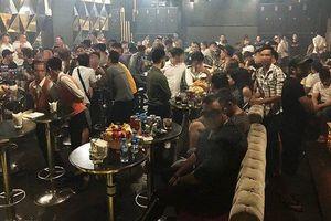 Đột kích quán bar Đông Kinh ở Sài Gòn, 95 dân chơi 'dính' ma túy
