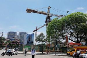 Quận Hà Đông (Hà Nội): Xử phạt 25 triệu đồng đối với Dự án Tòa tháp thiên niên kỷ vì vi phạm trật tự xây dựng