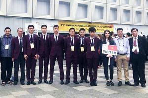 6 thí sinh Việt Nam giành huy chương tại Olympic Toán học quốc tế