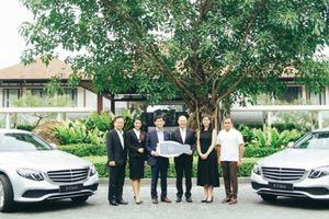 Laguna Lăng Cô sử dụng Mercedes-Benz E 200 thế hệ mới để đưa đón du khách