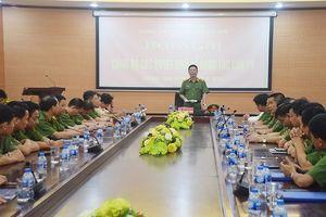CATP Hà Nội: Công bố quyết định điều động và bổ nhiệm chỉ huy Phòng Cảnh sát hình sự