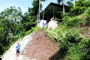 Xã Do Nhân (Hòa Bình): Nơm nớp nỗi lo sạt lở mùa mưa bão