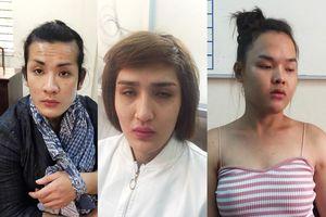 Bắt nhóm người chuyển giới thực hiện hàng loạt vụ trộm