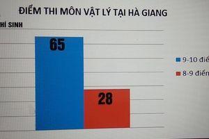 Vụ điểm thi cao bất thường ở Hà Giang: 'Lỗ hổng' ở khâu chấm thi?