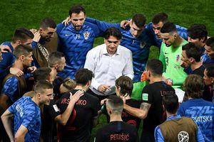 HLV Croatia nói gì với học trò trước trận chung kết lịch sử?