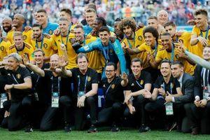 Không chỉ lần đầu có huy chương, Bỉ còn san bằng kỷ lục ghi bàn trong lịch sử World Cup