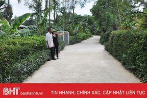 Một hộ hiến 350m2 đất, cả thôn có đường mới