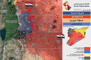 'Hổ Syria' chủ công nghiền nát thánh chiến, chiếm hàng loạt cứ địa tại nam Daraa