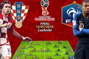 Chung kết World Cup 2018: Đẳng cấp Pháp và bản lĩnh Croatia