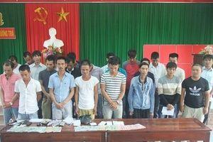 Cảnh sát bắt quả tang 23 con bạc đang cá độ bóng đá World Cup ở Huế