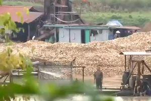 Bắc Giang: Hàng loạt sai phạm về hoạt động khai thác khoáng sản
