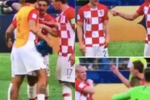 Vì sao Mandzukic và trung vệ Vida cãi nhau kịch liệt ngay trên sân?