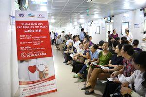 Hơn 3.000 người dân được khám sàng lọc bệnh lý tim mạch miễn phí tại BVĐK tỉnh Phú Thọ