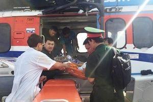Điều trực thăng ra Trường Sa đón hai ngư dân bị thương nặng