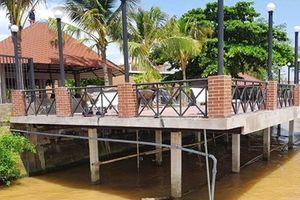 Sẽ xử lý nghiêm doanh nghiệp xây resort lấn sông Hậu