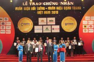 Sacombank lọt Top 20 nhãn hiệu nổi tiếng hàng đầu Việt Nam
